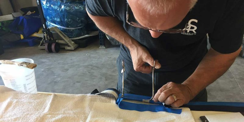 inflatable sup seam repair in the united states