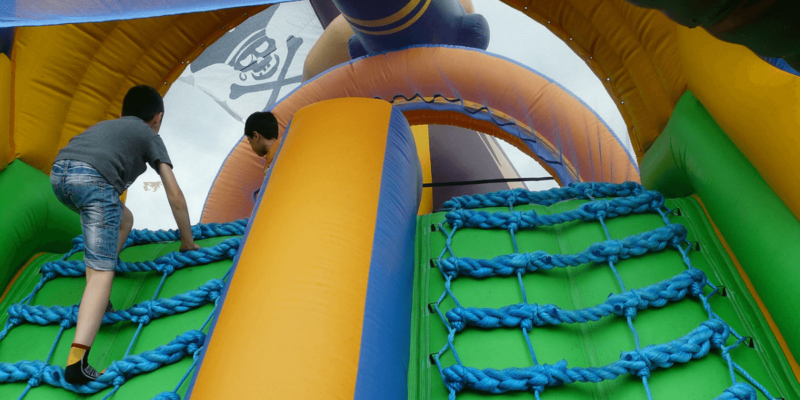 inflatable bounce house repair at United States